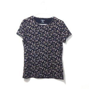 Croft & Barrow Swirl Design T-shirt S